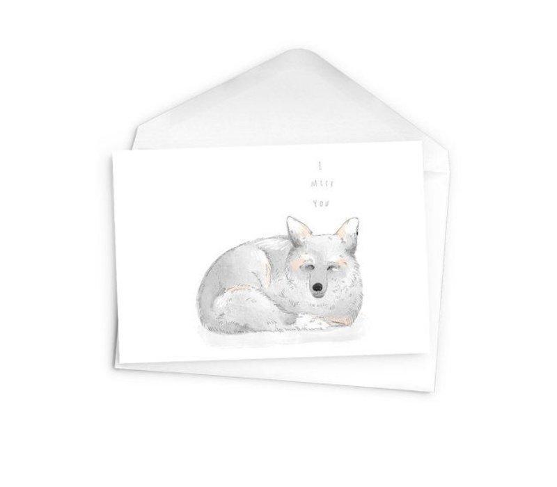 Arctic fox - I miss you