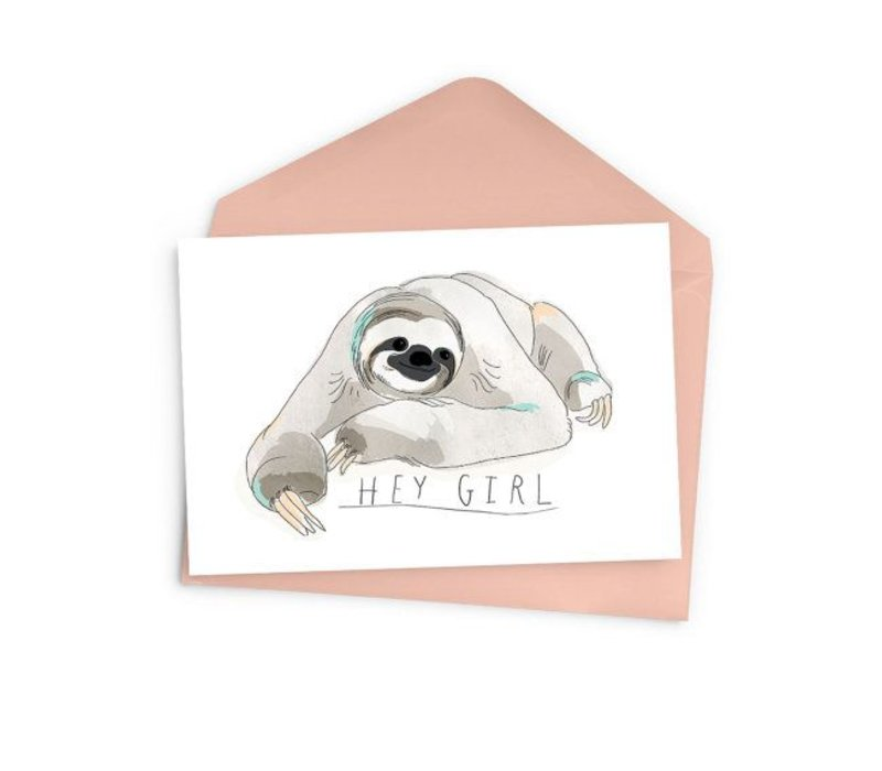 Hey girl sloth