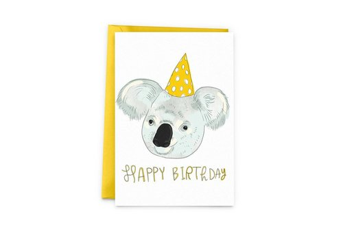 Koala birthday Greeting Card