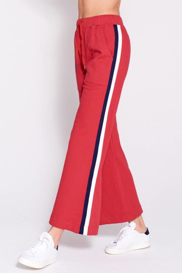 SUNDRY Flare Stripes Pant