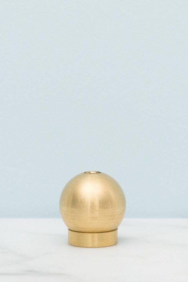 Province Apothecary Japanese Brass Incense Holder