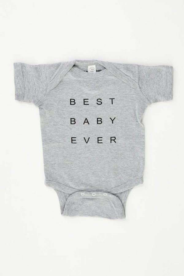 good hYOUman ONESIES - Best Baby Ever