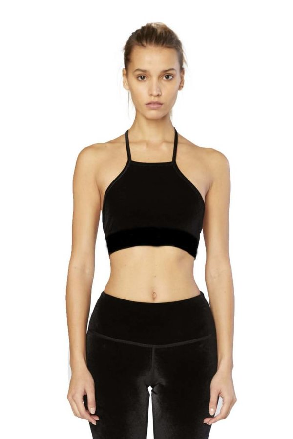 Electric & Rose Aries Velvet Sports Bra
