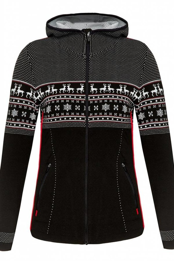 NEWLAND Cressida Full Zip with Hood Sweater