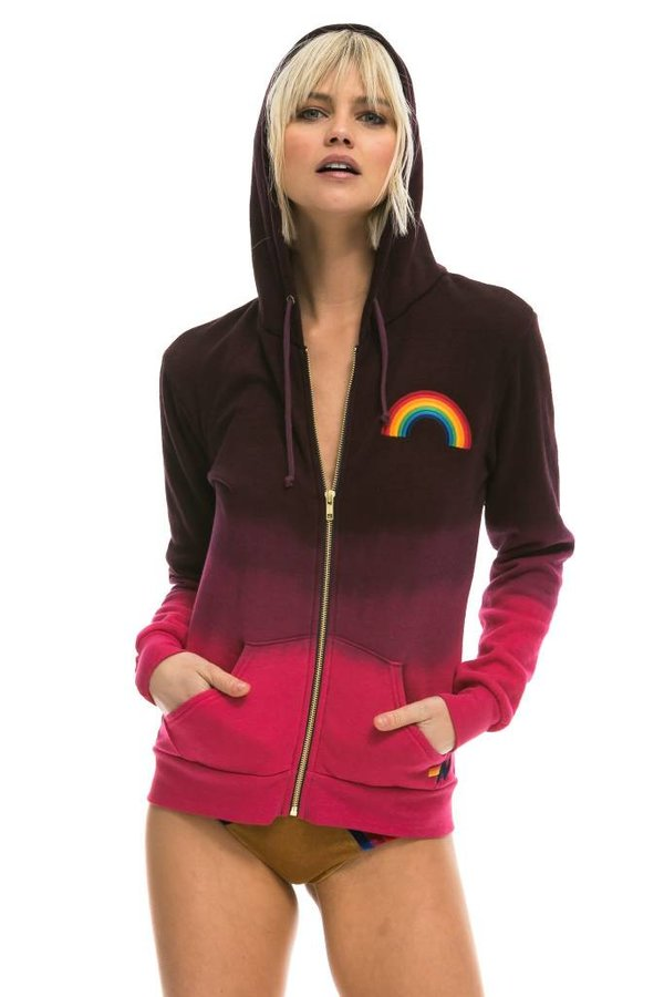 Aviator Nation Embroidery Zip Hoodie