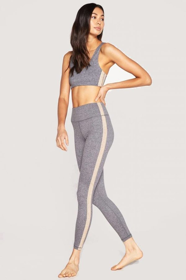 SPIRITUAL GANGSTER Stripe Perfect Hw Legging