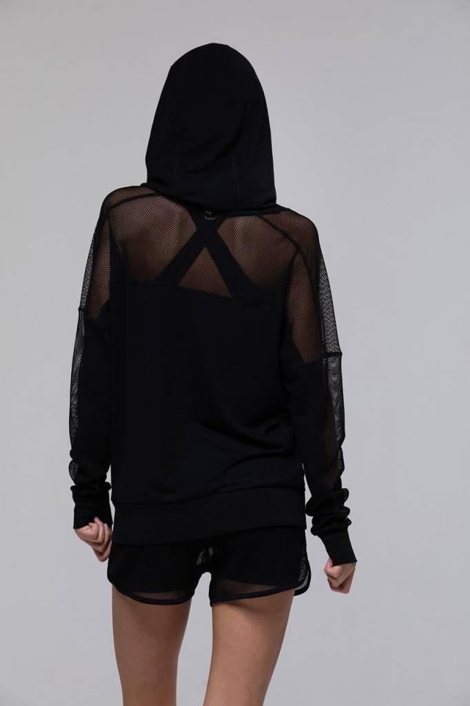 ONZIE Mesh long sleeve hoodie