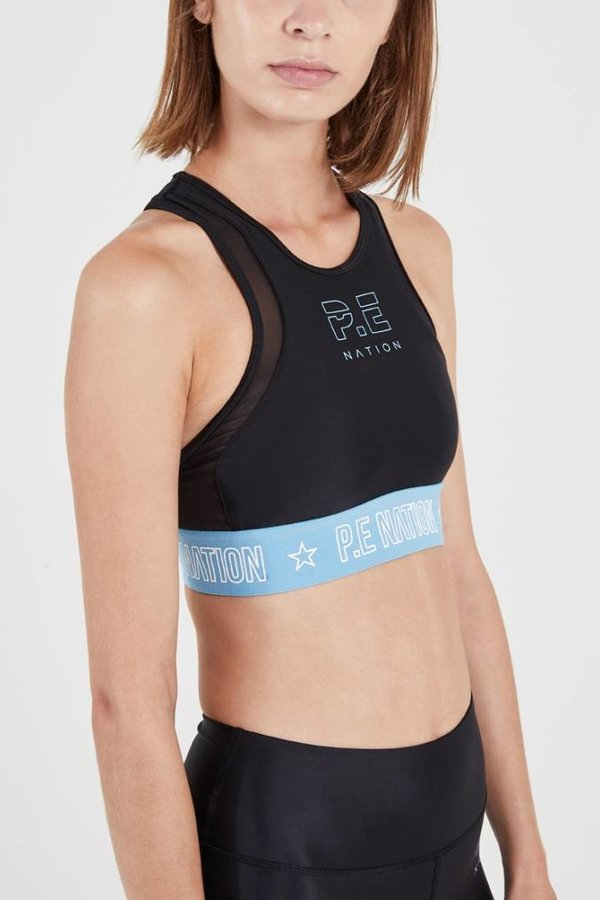 P.E Nation Figure Four Sports Bra