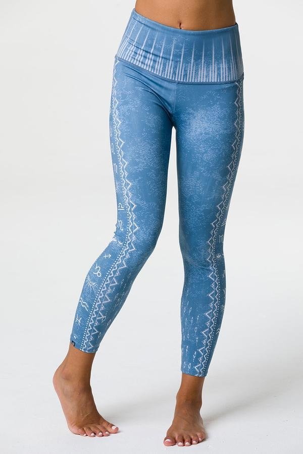 ONZIE Graphic High Rise Midi legging