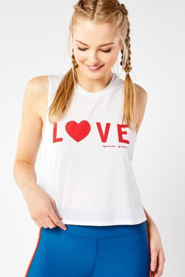 SPIRITUAL GANGSTER Active Crop Tank