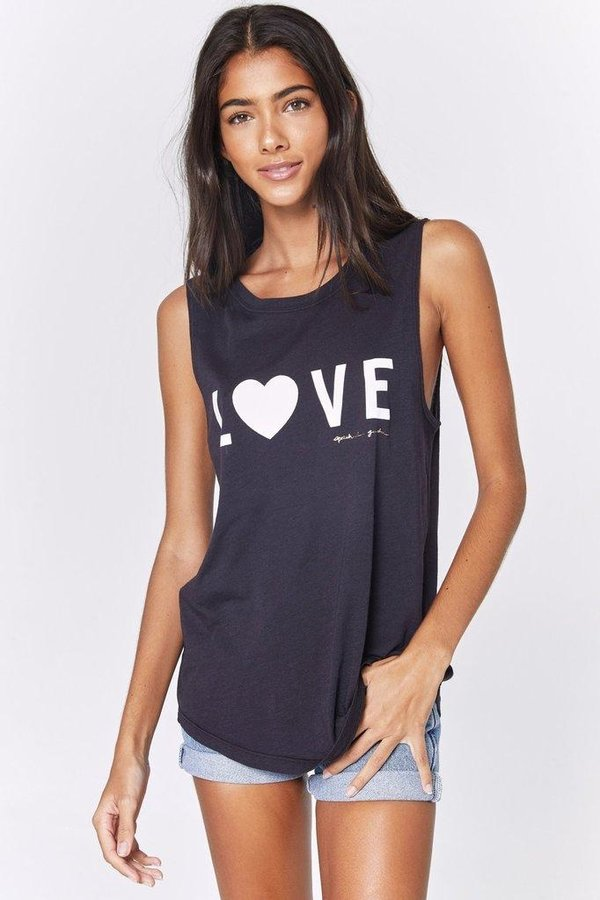 SPIRITUAL GANGSTER Love Muscle Tank