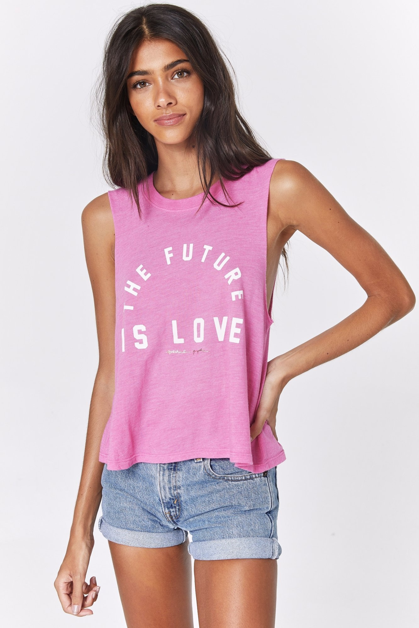 SPIRITUAL GANGSTER Future Crop Tank
