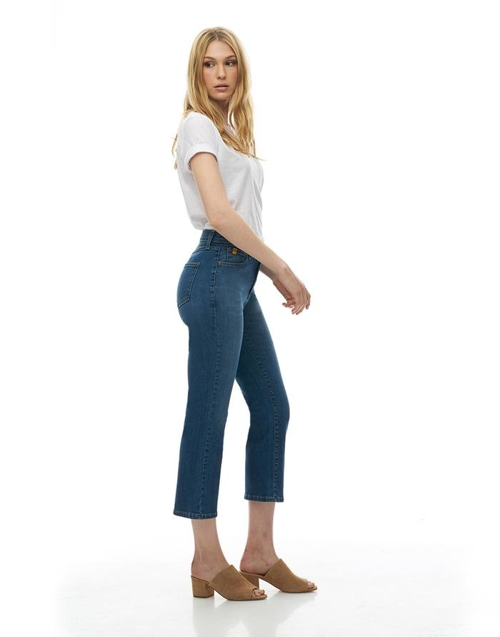 Yoga Jeans Chloe Straight High Rise