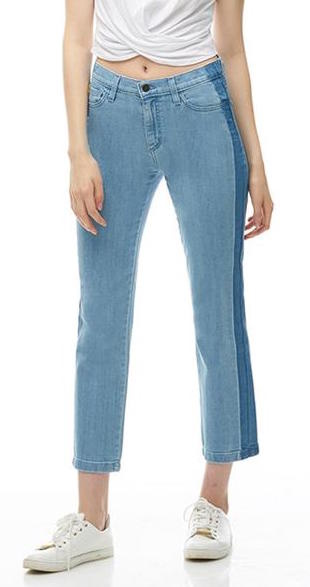 Yoga Jeans Classic Rise Ankle Straight