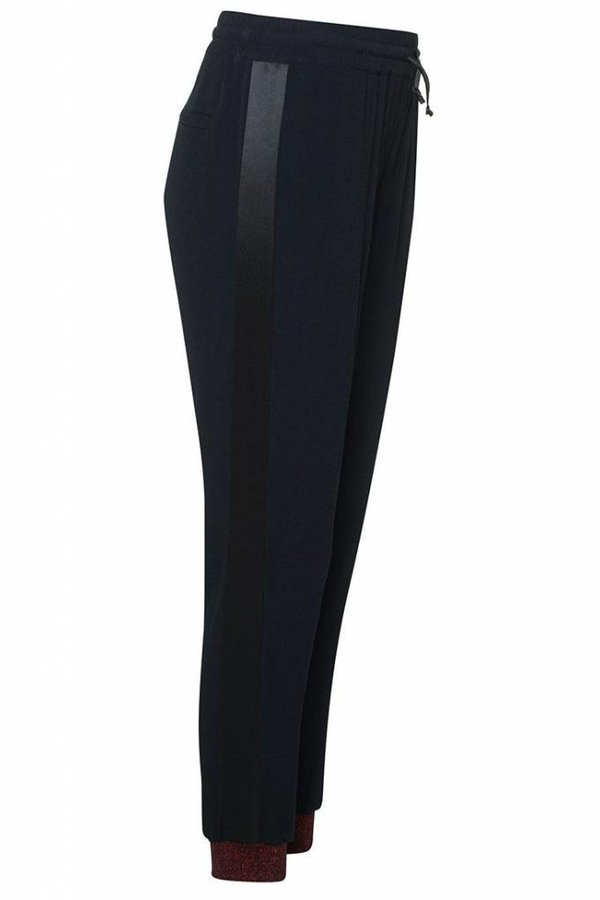 ZOE KARSSEN Pantalon Tuxedo Lurex