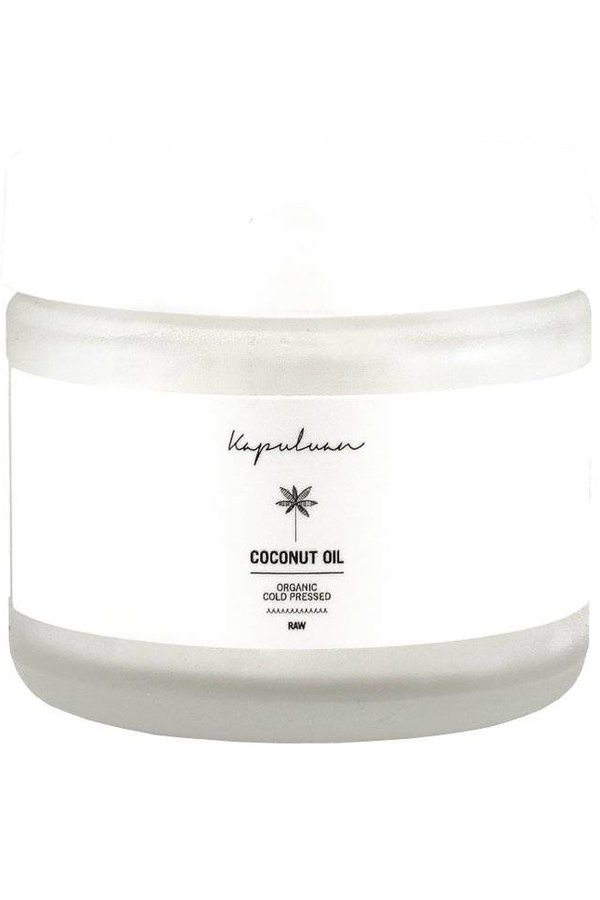Kapuluan Glass Jar Raw Organic Coconut Oil 2oz