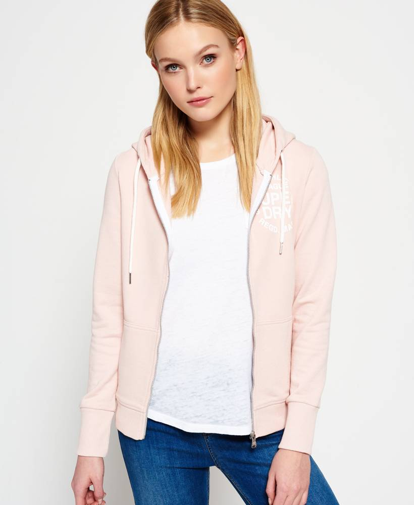 SUPERDRY Superdry athl. League loopback ziphood