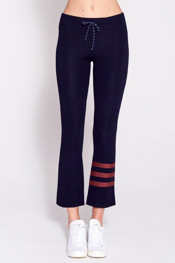 SUNDRY Stripes Kick Flare Pant