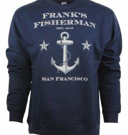 Frank's Fisherman Anchor Crew Sweatshirt