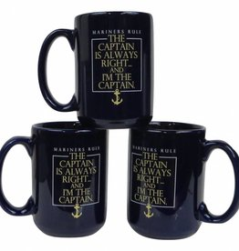 Captain's Always Right Mug
