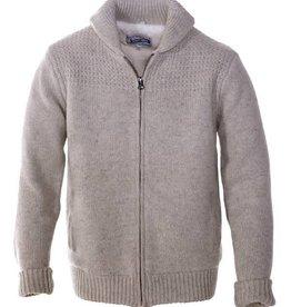 Schott Schott Men's Wool Blend Sweater Jacket