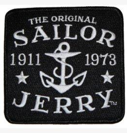 Sailor Jerry Sailor Jerry Logo Patch - Black