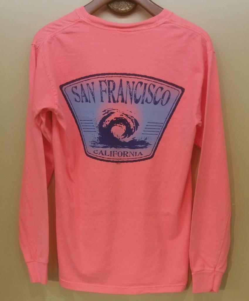 San Francisco Wave LS Tee Shirt