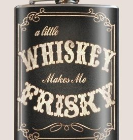 T & M Trixie & Milo Frisky Whiskey Flask