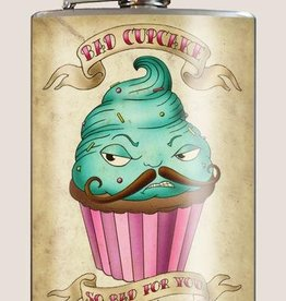 T & M Trixie & Milo Bad Cupcake Flask