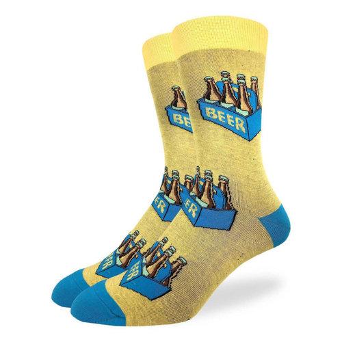 Good Luck Sock Six Pack Of Beer Socks