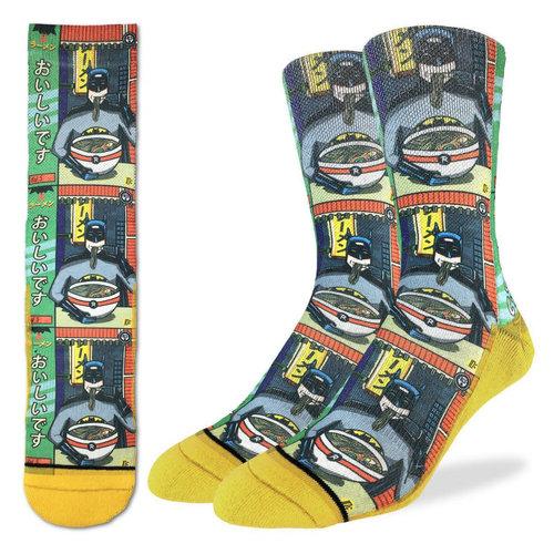Good Luck Sock Batman & Ramen Socks