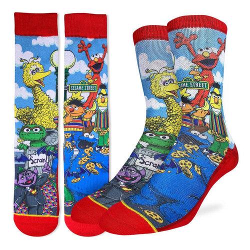 Good Luck Sock Sesame Street Family Socks