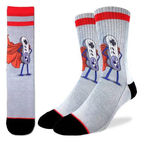 Good Luck Sock Super Nes Socks