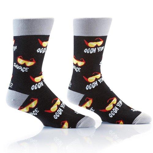 Yo Sox Vintage Macho Crew Socks