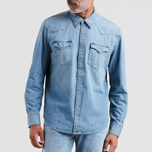 Levis Barstow Western Shirt - Red Cast Stone