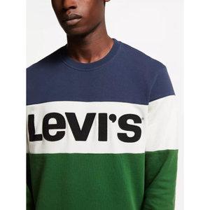 Levis Colourblock Crewneck Sweatshirt