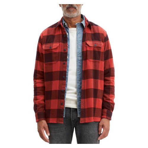 Levis Jackson Worker Overshirt - Albany Sassafras