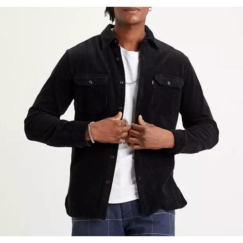 Levis Jackson Worker Overshirt - Jet Black