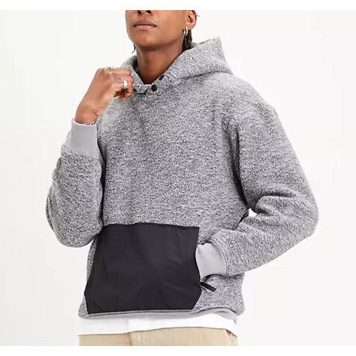 Levis Nylon Pocket Sherpa Hoodie
