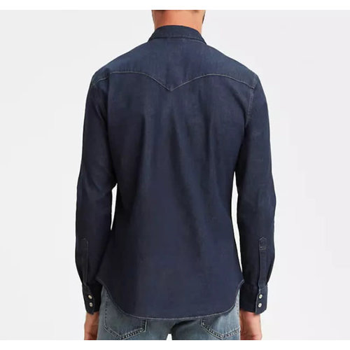 Levis Barstow Western Shirt - Red Cast Rinse