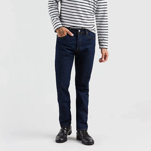 Levis 501 Original Fit Jeans - Dark Wash