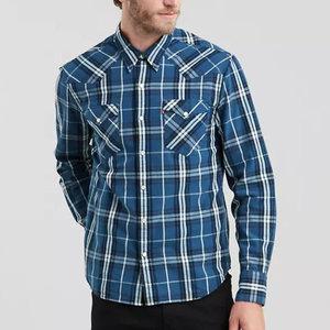 Levis Barstow Western Shirt - Wildcat Indigo