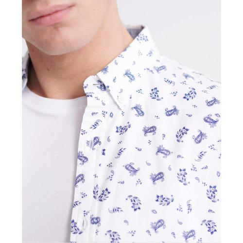 Superdry Classic Shoreditch L/S Shirt - Print