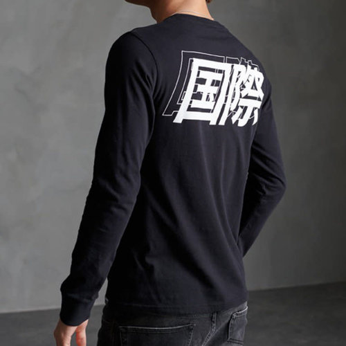 Superdry International Kanji L/S Top