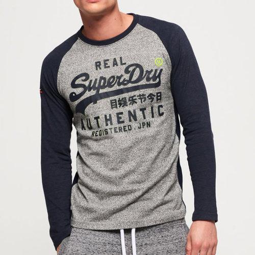 Superdry Vintage Logo Raglan L/S T-Shirt
