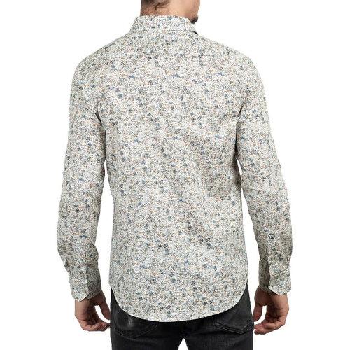John Lennon Collection Watercolour Flowers L/S Dress Shirt