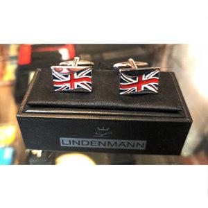 Lindenmann Union Jack Cufflinks