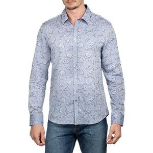 English Laundry Jacquard Floral L/S Dress Shirt