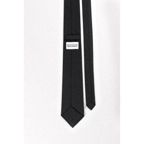 Beaux All Black Everything Skinny Necktie