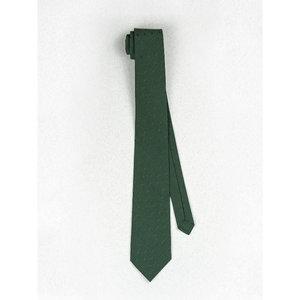 Beaux Emerald Green Polka Dot Skinny Necktie